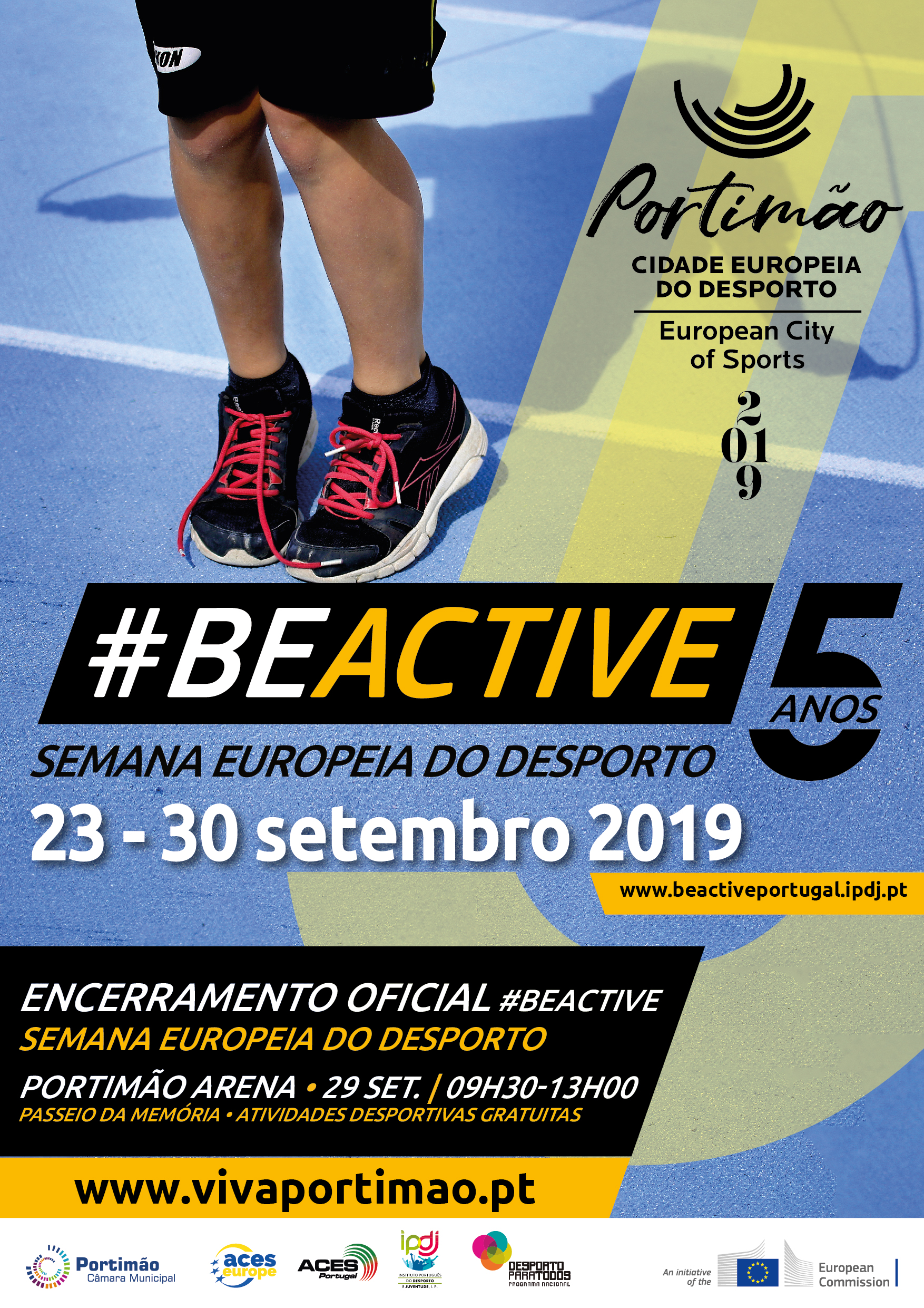 Semana Europeia do Desporto BEACTIVE