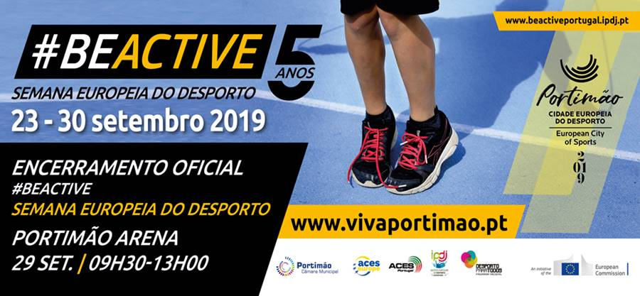 #BEACTIVE Semana Europeia do Desporto