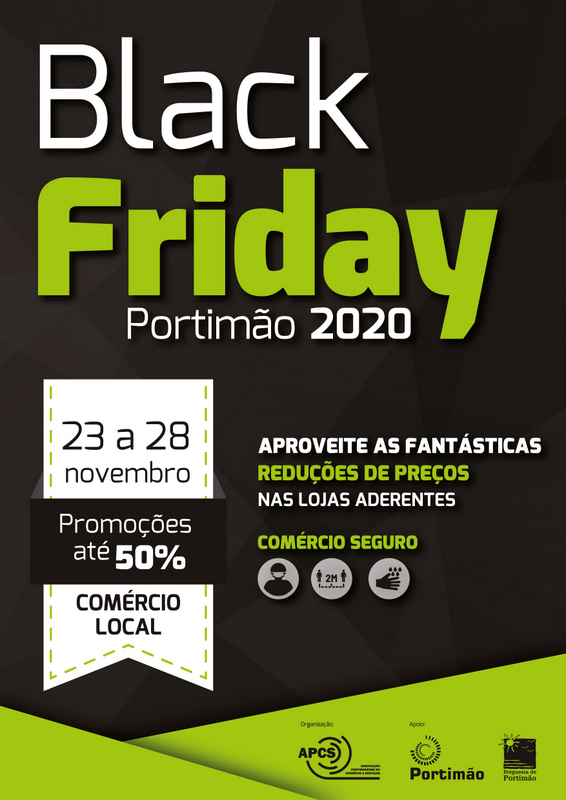Black Friday no comércio local de Portimão