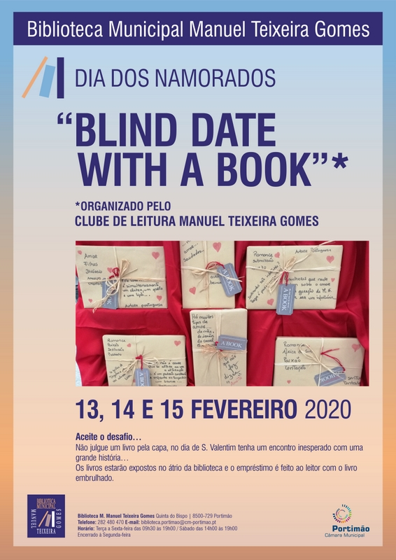 """Blind Date With a Book"