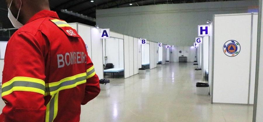 Hospital de Campanha de Portimão estará operacional até final do verão